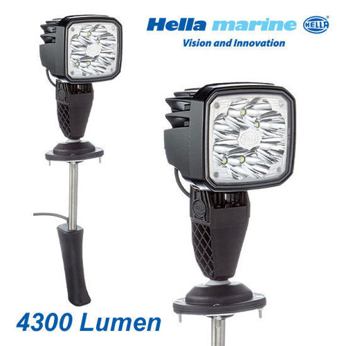 Picture of Hella Marine Ultra Beam Thru-Deck Search Light