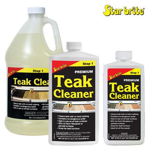 Picture of Star Brite Premium Teak Cleaner Step 1