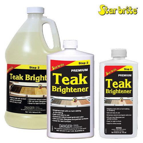 รูปภาพของ Star Brite Premium Teak Brightener Step 2