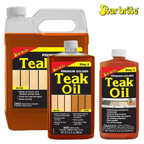 รูปภาพของ Star Brite Premium Golden Teak Oil Step 3