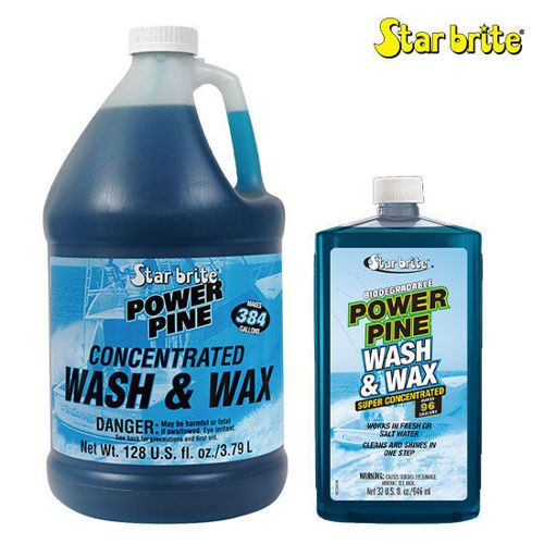 Picture of Star Brite Power Pine Wash and Wax