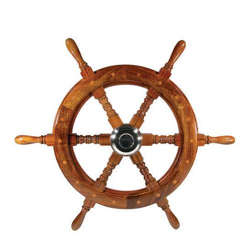 Picture of 6-Spoke Clasic Wooden Steering Wheels