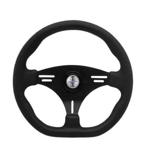 รูปภาพของ Luisi Portofino Steering Wheel - Black 355mm