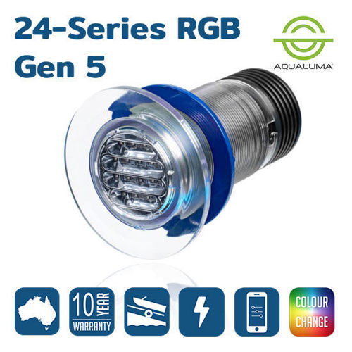 Picture of Aqualuma 24 Series G5 RGB Underwater Lights