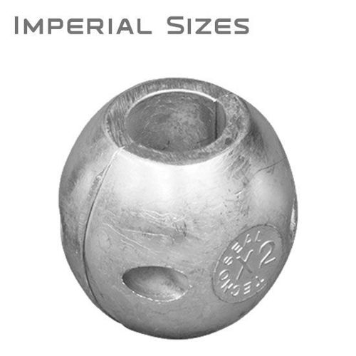 Picture of Streamlined Shaft Anodes, Aluminum, Imperial