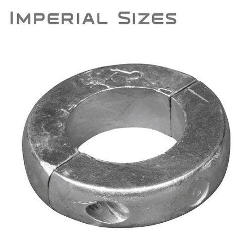 รูปภาพของ Limited Clearance Shaft Anodes, Aluminum, Imperial