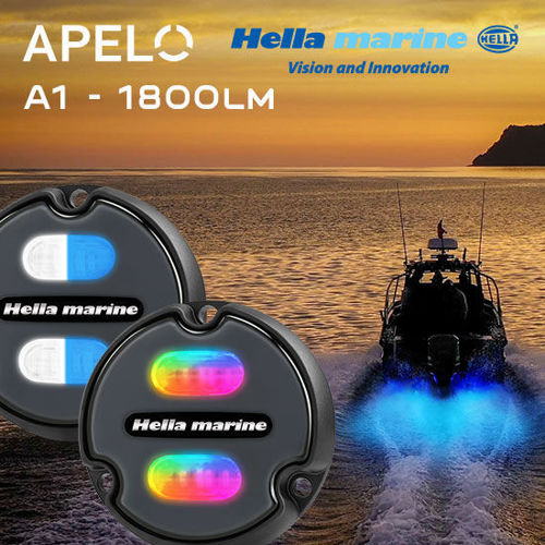 Picture of Hella Marine Apelo A1 Underwater Lights - Polymer