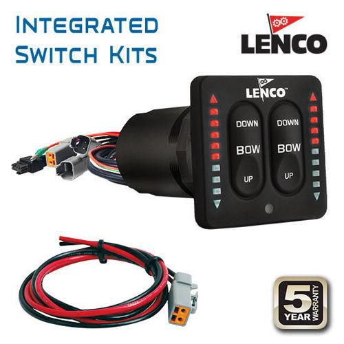 รูปภาพของ Lenco Trim Tab Integrated Switch Kits