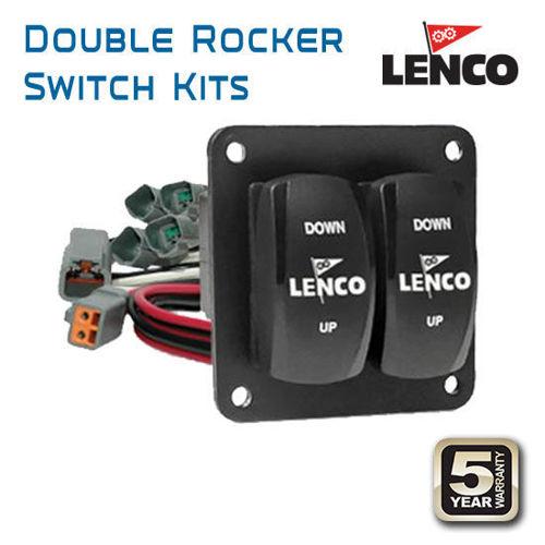 รูปภาพของ Lenco Double Rocker Switch Kits
